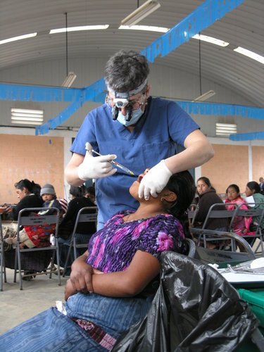 Dental Professional Serving a Kuna Woman